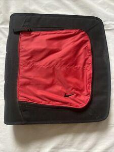 Vintage Nike 3 Ring Binder Mead Trapper Keeper School Organizer Zipper Pockets