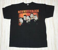 New Kids On The Block 2008 Tour T Shirt Size XL