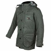 Spada Jimmy Who Waterproof Moto Motorcycle Motorbike Textile Jacket Dark Grey
