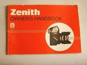 Zenith EM Film SLR instruction book