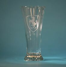 FERRARI SCUDERIA 20oz  CUSTOM ETCHED PILSNER GLASS 360 F430 F355 308 348 458