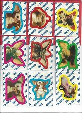 1984 Topps Gremlins sticker complete set 1 to 11 nm to mint
