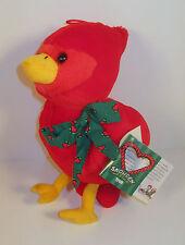 "1998 Redbird Red Bird 10"" Plush Stuffed Animal Raggedy Ann Andy Snowden Friends"