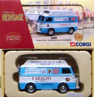 CORGI EX70629 FRENCH HERITAGE 1/43 Peugeot D3A Van Faraghi Vins Superieurs