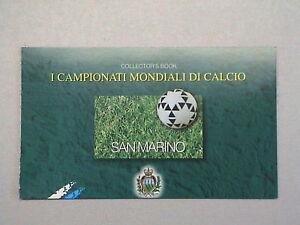 SAN MARINO 1998 LIBRETTO L5 MONDIALI CALCIO FRANCIA 98