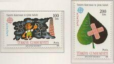 Europa CEPT 1986 Natuurbescherming Turkije 2738-2739 - MNH Postfris