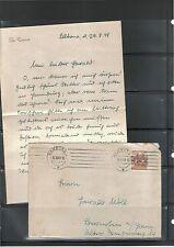 Ungeprüfte deutsche Briefmarken der alliierten Besatzung als Ganzsache