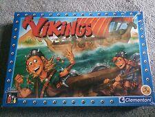 Clementoni - Vikings Board Game New/Sealed - Frederico & Leo Colovini