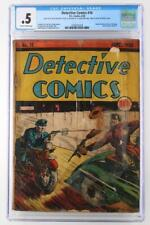 Detective Comics #16 - CGC 0.5 PR - DC 1938 - Ad for Action Comics #1!