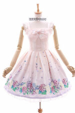 JSK-01 Hortensie rosa Blumen Pastel Gothic Lolita Kleid Stretch dress Cosplay