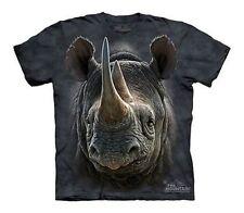 The Mountain Black Rhino Rhinoceros Horns African Wild Animal Shirt Child S