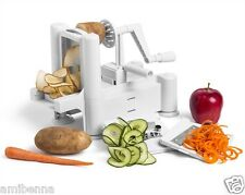 Vegetable Spiral Slicer Cutter Potato Twister Curly French Fry Stainless Steel
