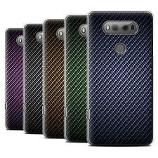 STUFF4 Phone Case/Cover for LG V20 F800/H990/VS995 /Carbon Fibre Effect/Pattern