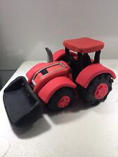 Tractor With Bucket Cake Topper Fondant Birthday Cakes 3D Edible Icing Sugar