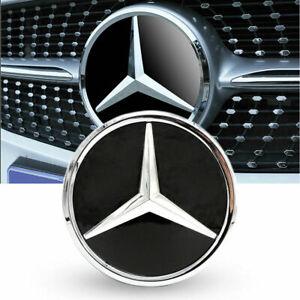 For 2011-2020 Mercedes-Benz A C E R E300 W205 Led Light Grille Logo Badge Emblem