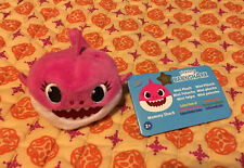 NEW Baby Shark Mommy Shark PINK Mini Plush Stuffed Beanie Animal by Pinkfong Toy