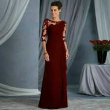 Lace Ball Gown Women Elegant Long Dress Evening Party Cocktail Prom Patchwork