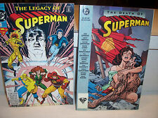 1993 Collectibles DC Comics-The Death of Superman and The Legacy of Superman