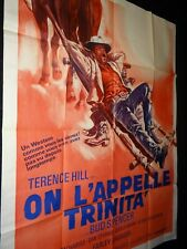 terence hill bud spencer ON L'APPELLE TRINITA ! affiche cinema western 1970