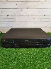 JVC HR-J625EK VHS VCR Video Recorder Player, No Remote....