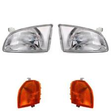 Headlight Set for Toyota Starlet P9 Year 96-99 H4 with Indicator