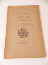 MAUCLAIRE LA VIE ET L' OEUVRE DE VERNIQUET ARCHITECTE DU GRAND PALAIS PARIS 1940