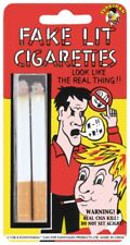 Jokes & Pranks - Fake Lit Cigarettes X 2 Smoker Joker Prankster Looks Real Deal