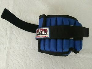 Ankle Wrist Weight Set  All Pro Fully Adjustable Contour Foam  2lbs X2 - 4lbs