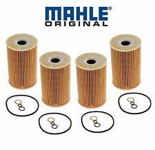 BMW E36 318i  E36.7 Z3 Set of 4 Oil Filter Kit OEM MAHLE-KNECHT 11 42 1 716 192