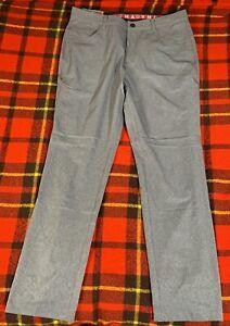 MENS PUMA JACKPOT 5 pocket Pants Quiet Shade Size 34x32 NEW C9