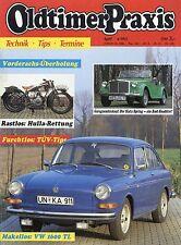 Oldtimer Praxis 4 93 1993 Hulla 175 Siata Spring Unimog Zündapp KS 500 VW 1600 T