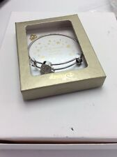 Disney Mickey Mouse Bangle Bracelet One Size Silver tone $58
