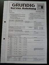ORIGINALI service manual Grundig Yacht Boy 450