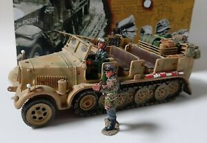 King & Country WS52A WWII - German Sd.Kfz. 7 Half-Track Prime Mover 1:30