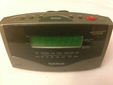 RadioShack NOAA 7 Channel Weather Alert AM/FM Digital Alarm Clock Radio 12-1627