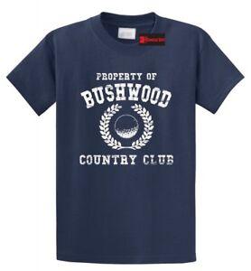 Bushwood Country Club Golf T Shirt Caddyshack Balls Funny Shirt Holiday Gift Tee