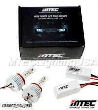 MTEC H8 V4 26W CREE LED Angel Eye Halo Ring Bulbs BMW E60 E61 5 Series 2008-2010