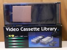 VIDEO 8 / VHS-C PLASTIC STORAGE BOX-NEW IN BOX-CENTRON-HOLDS 12 OR 9