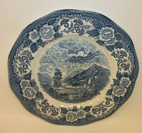 "Lochs of Scotland Loch Oich Royal Warwick 10"" Dinner Plate"