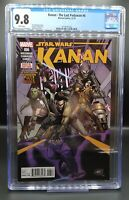 Kanan The Last Padawan #6 CGC 9.8 STAR WARS 1st appearance of Sabine Wren, Ezra!