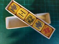 More details for vintage st george series poker dice 1950s   (c3)