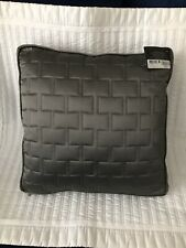 "Hotel Collection Frame Quilted 16"" x 16"" Decorative Pillow - Nickel"