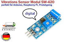 Vibrationi Sensore LM393 SW-420 per Arduino & Raspberry Pi con