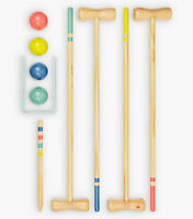 Croquet 4 Player Wooden Set by Professor Puzzle Family Garden Sports Games