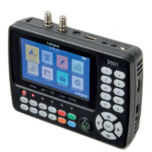 Labgear S501 Combo Signal Meter Satellite DVB-S2/T2 Sky Q™ Wideband Compatible