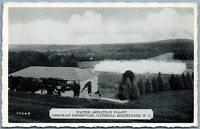 CATSKILL MOUNTAINS NY WATER AERATION PLANT ASHOKAN RESERVOIR VINTAGE POSTCARD