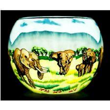 Benaya Elephant Family Tealight Holder Bac165028