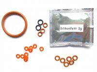 3x Wartungsset Dichtung O-Ring Dichtungssatz passend für DeLonghi ESAM -SET015