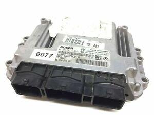 PEUGEOT 207 1.6 HDI Engine ECU Control Module Unit 9661004480 0281012465