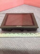 Keyence LCD Color Monitor Touch Screen CA-MP81  With Mounting Clips